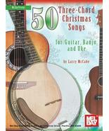 50 3 chord Christmas Songs For Guitar,Banjo,Aut... - $8.99