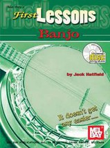 First Lessons Banjo By Jack Hatfield/Book w/CD Set - $8.99