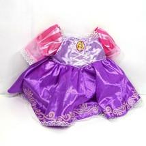 Build A Bear Disney Rapunzel Tangled Dress Princess Purple 2013 Ages 3 and Up - $17.81
