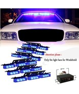 54x LED Ultra Bright Blue Emergency Service Vehicle Warning Flashing Str... - $59.99