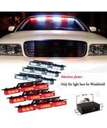 Red and White 54x LED Strobe Light Set Emergency Service Vehicle Deck Gr... - $58.99