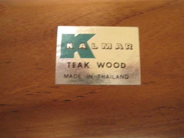 Mid Century Teakwood Serving Tray - Mint Vintage