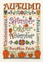 Autumn Season cross stitch chart Imaginating - $5.40