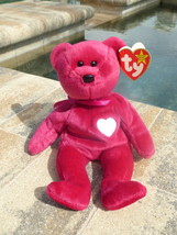 Beanie Babies TY Valentina Bear Collectible Retired 1998  - $3.50