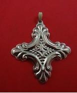 1990  Reed & Barton Sterling Christmas Cross Ornament - $39.00