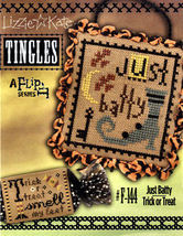 Just Batty Trick or Treat F144 TINGLES 2014 Double Flip cross stitch Liz... - $8.10
