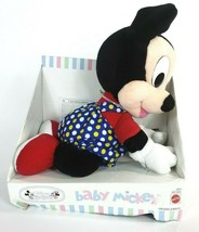 NEW 1995 Disney Babies Baby Mickey Mouse toy plush - $20.00