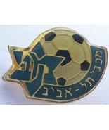 Maccabi Tel Aviv FC football / soccer pin Israel fan club - £7.38 GBP