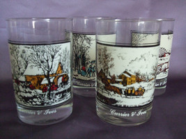 Arby's Currier & Ives Collector's Series Glasses, Set of 4 - $21.95