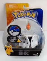 Pokemon Throw n Pop Pokeball Rotom Figure & Great Ball Set By Tomy New S... - $13.84
