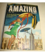 Amazing Stories Science Fiction Pulp Magazine Digest April 1957~Randall ... - $14.00