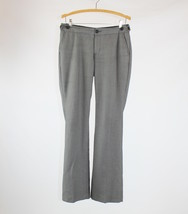 Black gray white geometric BANANA REPUBLIC martin fit dress pants 4 - $12.49