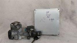 04-05 Honda Civic 1.7 Lx A/T ECU PCM Engine Computer & Immobilizer 37820-PLM-A74 image 5