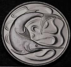 Singapur 20 Cent, 1981 Edelstein UNC ~ Swordfish - $5.72