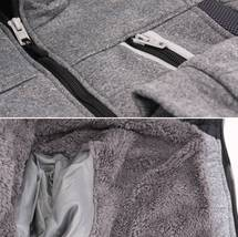 Boys Juniors Athletic Hoodie Sherpa Lined Kids Toddler Sweater Zipper Jacket image 10