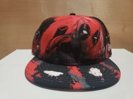 New Era Deadpool  All Over 7 1/2 Fitted Hat Cap  - $54.45