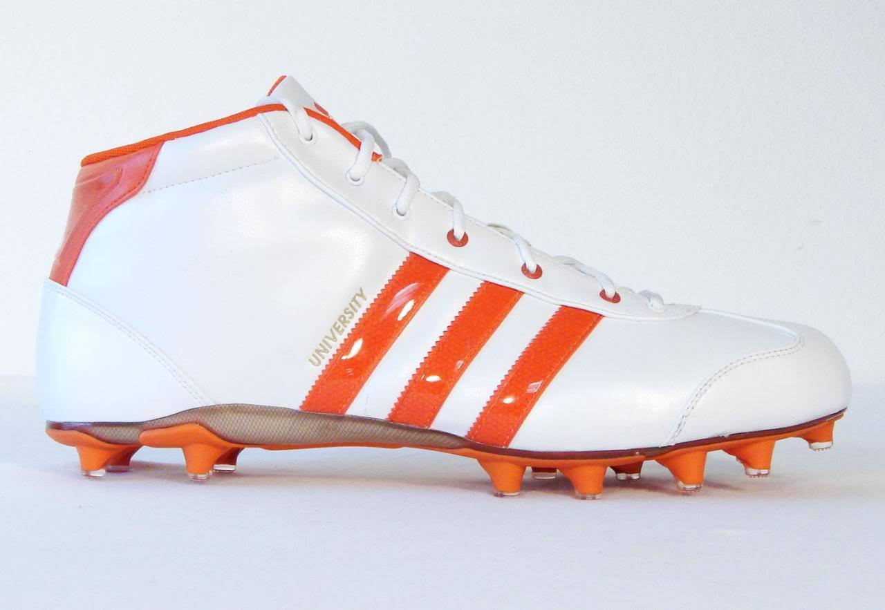 info for 64948 ffd4a Adidas University LE Mid Football Cleats NEW and 30 similar items