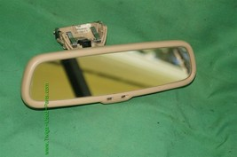 04-07 Volkswagen VW Touareg Autodim Auto Dim Rearview Mirror - TAN image 1