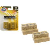 Stacked Wooden Crates Ford Tractor Parts and Dearborn Farm Equipment 2 p... - $16.74
