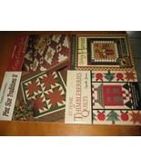 Thimbleberries lot 4 quilt patterns quilter books lot  Lynette Jensen  - $15.84