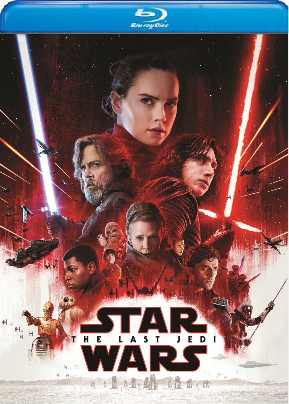 Star Wars: Episode VIII: The Last Jedi [Blu-ray, 2018]