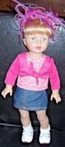 "Madame Alexander Blonde Hair Blue Eyes 18"" Doll with accessories - $18.49"