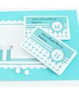 Personalized Something Blue Tiffany Mini Mint Box Bridal Wedding Favors - €55,13 EUR+