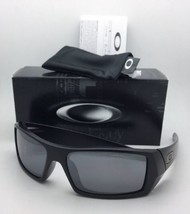 New OAKLEY Sunglasses GASCAN OO 24-435 Matte Black Frame w/ Black Iridium Lenses
