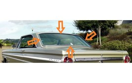 1962-1965 FALCON/FUTURA SEDAN BACK GLASS WEATHERSTRIP - $79.15