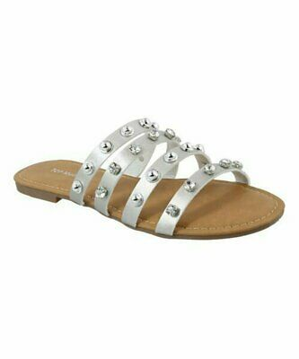 Primary image for TOP MODA, Silver Hydra Sandal, Sz 7