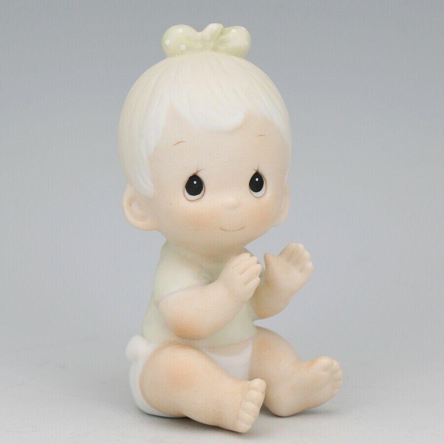 "1983 Precious Moments Baby Figurine 3 1/4"""
