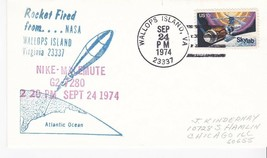 NIKE-MALEMUTE G2-7280 ROCKET FIRED WALLOPS ISLAND VA SEP. 24 1974 - $1.78