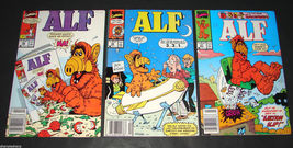 3 1990 Marvel Comics ALF 26 VG, 27 F, 28 F Comic Books Alien Life Form - $11.69