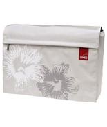 "Golla Lifestyle GenMob Limon White Cream Ivory Floral 16"" Laptop Messeng... - $99.99"