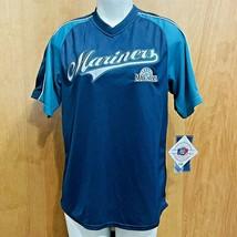 MLB Seattle Mariners True Fan Stitched Jersey/Shirt Unisex - Youth L 10/12 NWT  - $24.97