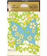 Vintage Bridge Tallies 1960s Butterfly Sealed Package Two Table Tally - $4.94