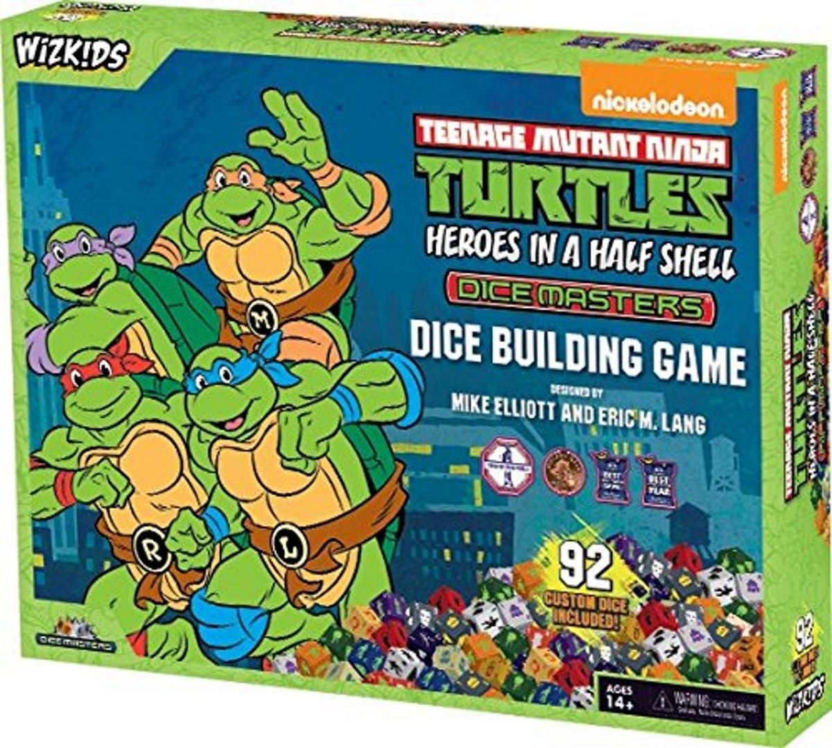 Teenage mutant ninja turtles dice masters heroes in a half shell box set