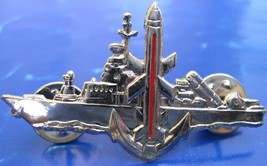 Israel IDF Navy missile boats badge / pin harpoon launchers and a Gabrie... - $9.99