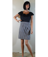 NWT MAX & CLEO Cher Panelled Grey & Black Dress Size 4 NEW (MAKE AN OFFER) - $117.32