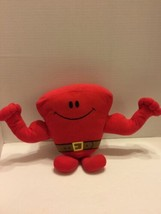 "Fisher Price Talking Mr Muscle Red Exerciser Plush Toy Talks 9"" - $5.89"