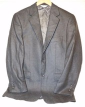 Mens 36R Joseph & Feiss Grey Cashmere Blend Blazer  - $29.99