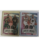 2019-20 Panini Illusions Warriors STEPHEN CURRY & Gary Payton Career Lin... - $12.19