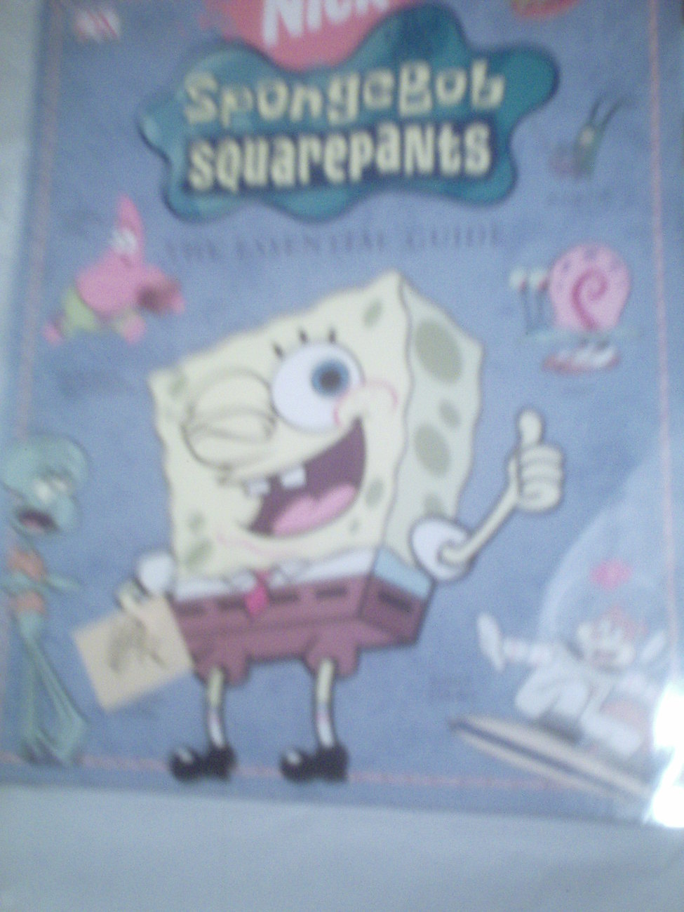 Nickelodeon Magazine  SpongeBob Square pants The Essential Guide 2005