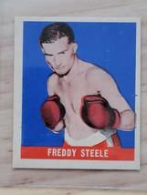 1948 Leaf Boxing Card #71 FREDDY STEELE - $13.86