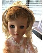 VINTAGE 1940's Revlon Like Bridal Doll Original Clothes - $99.99