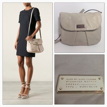 MARC BY MARC JACOBS MACRHIVE CROSSBODY BAG - PALE TAUPE - $299.00
