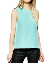 NWT ASOS Sleeveless Shell Top Mint size 2 - $50.00