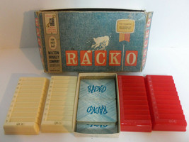 Vintage 1961 RACKO Card Game By MB Milton Bradley RACK-O Complete 4615 - $19.75