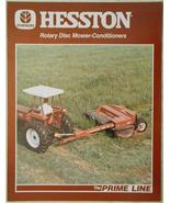 1986 Hesston 1040, 1050, and 1060 Rotary Disc Mower-Conditioners Brochure - $8.00