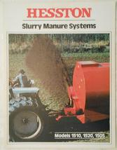 1979 Hesston 1510, 1520 Slurry Spreaders & 1505 Manure Agitator Brochure - $8.00